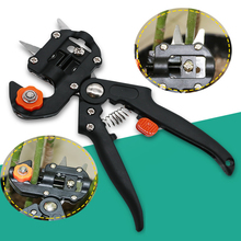 Garden Tools Grafting Pruner Chopper Vaccination Cutting Tree Plant Scissor Pruning Cutting Shears Garden Tool good package grafting machine with 2 blades tree grafting tools secateurs scissors vaccination knife cutting pruner