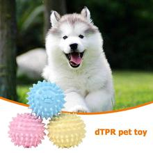 TPR Pet Toy Footprint Thorn Ball Dogs Bite Chew Molar Tooth Cleaning Environmentally friendly and non-toxic Toys New