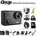 Оригинал GitUp Git2 Действий Камеры Стандартная Упаковка Wifi Спорт DV 2 К 1080 P 60fps Full HD Открытый мини Видеокамера 1.5 дюймов ЖК-Камеры