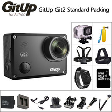 Original GitUp Git2 Action Camera Standard Packing Wifi Sports DV 2K 1080p 60fps Full HD Outdoor mini Camcorder 1.5 inch LCD Cam(China (Mainland))