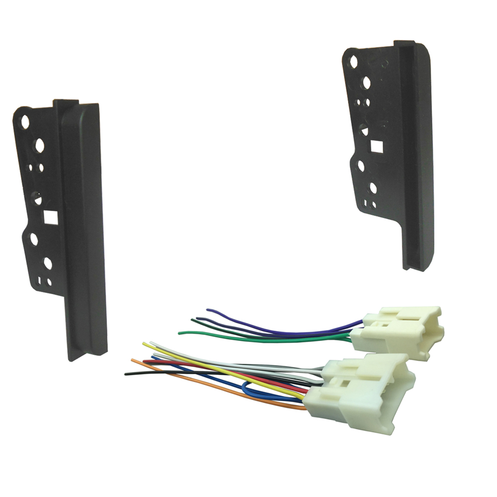 Radio Replacement Installation Kit Brackets For Car Stereo Panel Dash Fascia Wiring Fitting Toyota Rav4 Echo Scion Tc Double Din With Harness