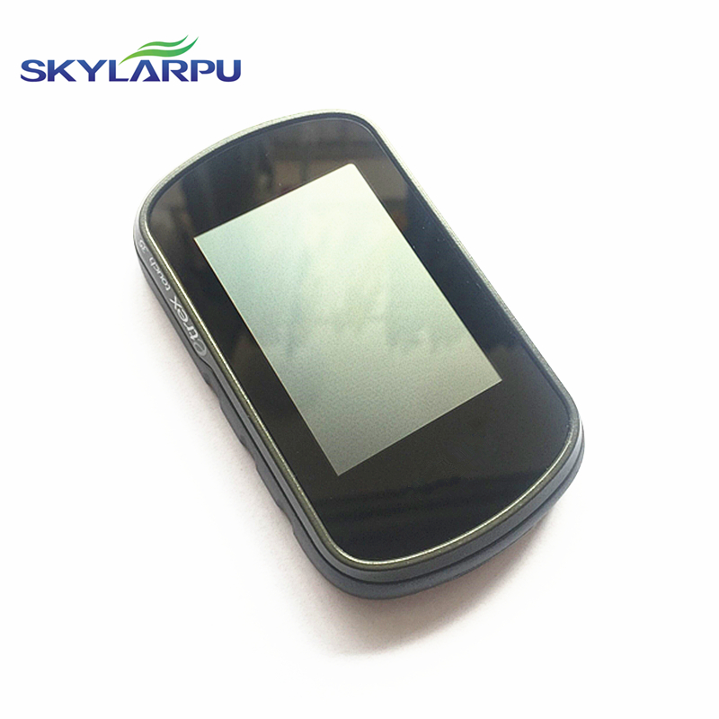 skylarpu Original (black) LCD screen for GARMIN etrex touch 35 Handheld GPS LCD display Screen with Touch screen digitizer frame