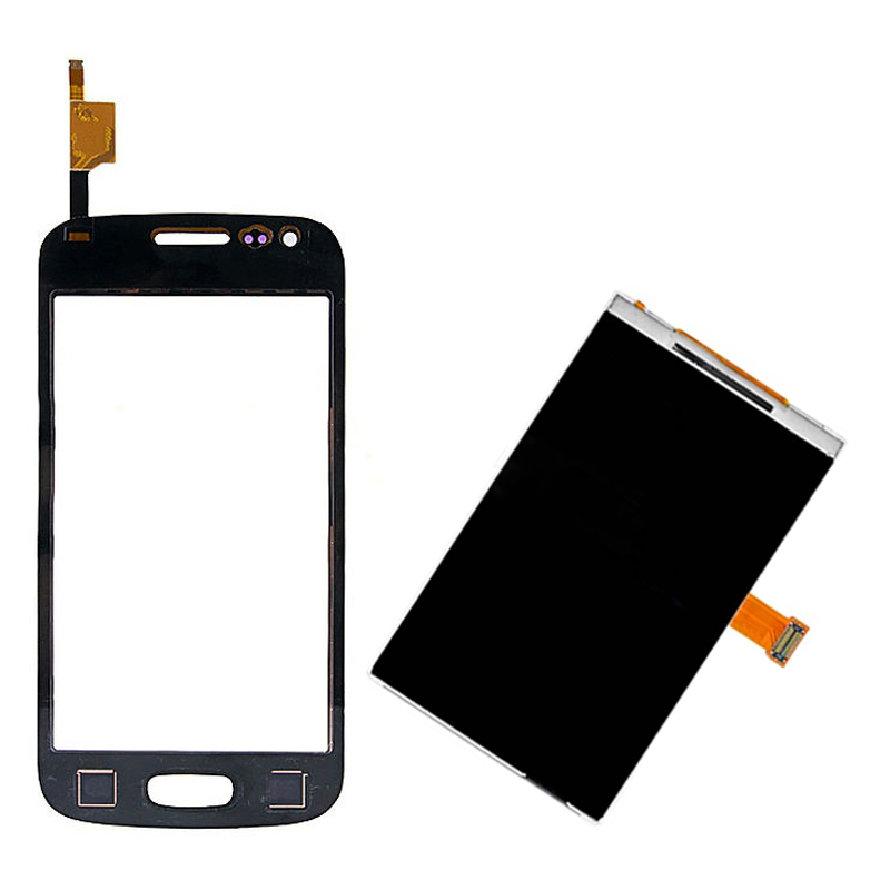 Black For Samsung Galaxy Ace 3 S7275 S7270 S7272 S7273 Touch Screen Digitizer Sensor Glass + LCD Display Screen Panel Monitor
