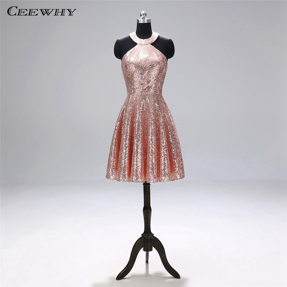 CEEWHY Off Shoulder Sequins Dress Party Elegant Short Cocktail Dresses for Women Prom Dresses Sequin Gown Abiye Elbiseler cocktail dress