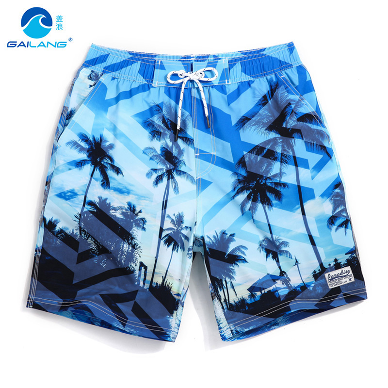 Board     shorts   Men's Bathing suit quick dry surfboard hawaiian bermudas liner joggers beach   shorts   navy loose trunks mesh