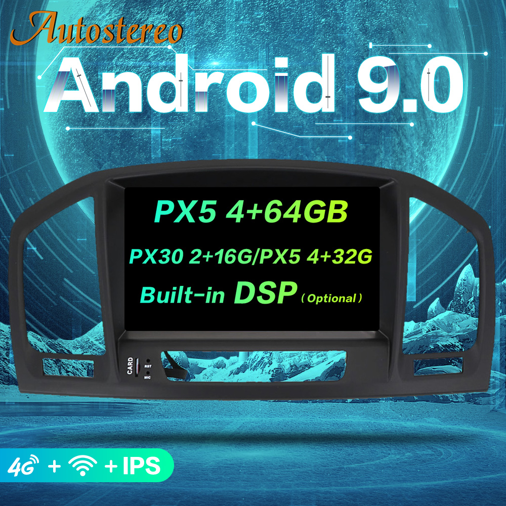Android 9 Car DVD Player For Opel Vauxhall Holden Insignia 2008 2013 GPS navigation auto multimedia