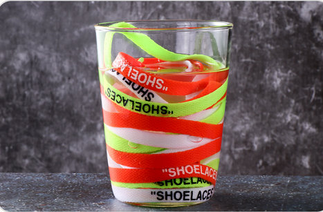 """Vieruodis печать """"шнурки"""" черный белый оранжевый зеленый OW подписанные шнурки для офф обуви овальные веревочные шнурки"""