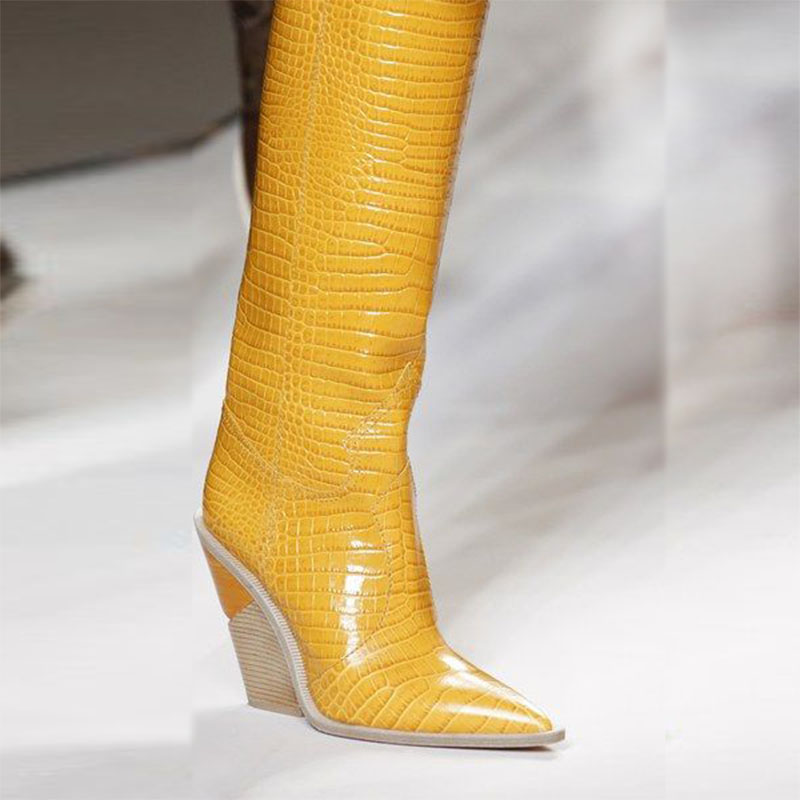 2018 Новый Milan Fashion панк обувь женские ботильоны martin Леди Белая змея длинные Botines черная сетка кожа зимние сапоги Для женщин