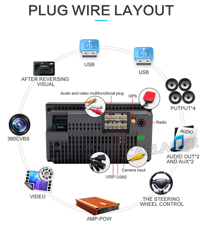 car android radio 2 din 2din - (5)
