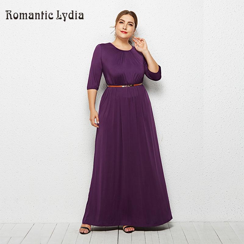 Big Size Autumn Women Dresses 2018 Winter Large Size Loose Dress Female Long Dress Plus Sizes