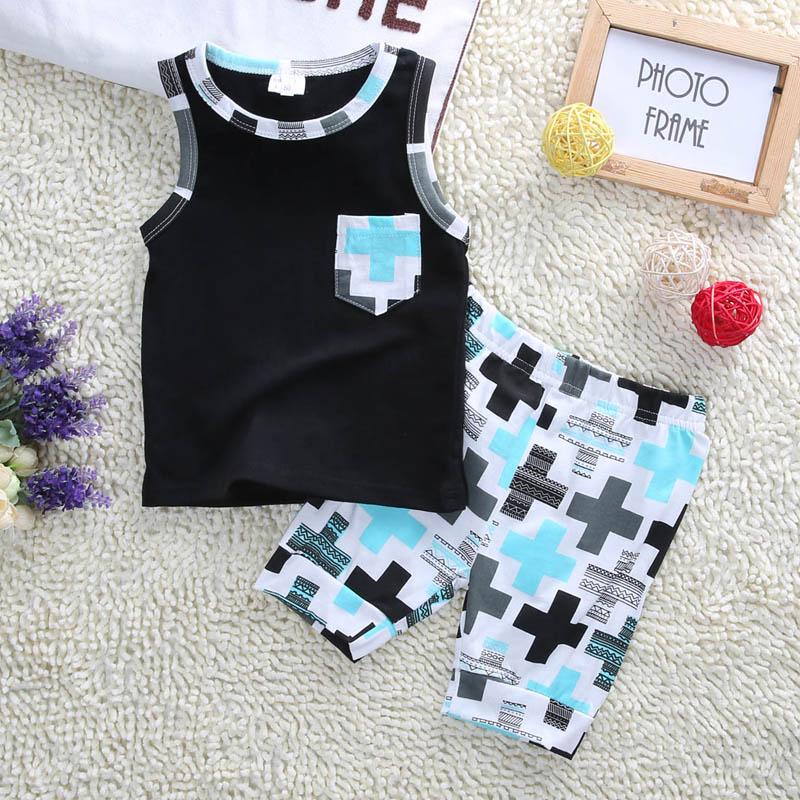 03e3eddd8 Stylish Infant Toddler Baby Kids Boys Outfits Babies Boy Vest tops + ...