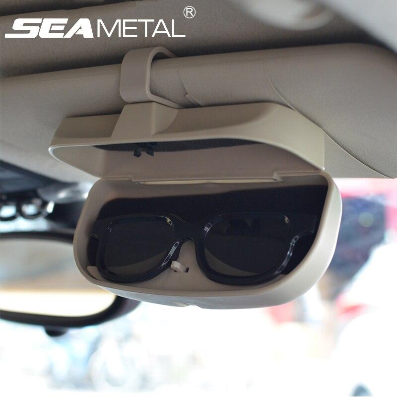 car glasses case sun glasses visor organizer auto