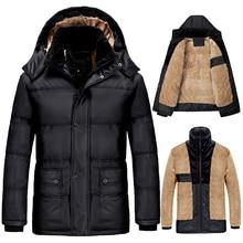 Plus Size 6XL 7XL 8XL Thickening Winter Jacket Men Windproof Jackets Hooded Warm Down Parka Outerwear Faux Fur Coats DJ01202