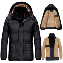 Plus Size 7XL 8XL 9XL Thickening Winter Jacket Men Windproof Jackets Hooded Warm Down Parka Outerwear Faux Fur Coats DJ01202