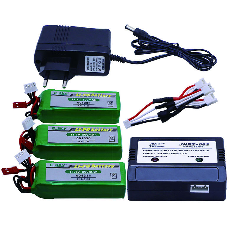 ФОТО hot sell New 01-2x EK1-0188 Polymer Lipo battery 11.1V 800mAh 20C for HM RC Car Airplane Helicopter Toy hot