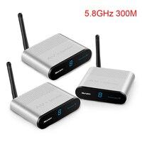 Measy AV530 2 5.8GHz 300M Wireless AV Sender TV Audio Video Transmitter 2 Receiver Frequency Band 8 Groups Channels