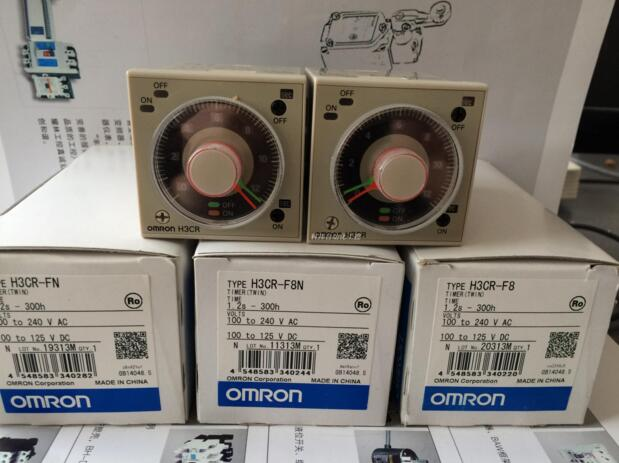 FREE SHIPPING 100 NEW Original H3CR F H3CR F8N H3CR F8 H3CR FN Time Relay Sensors