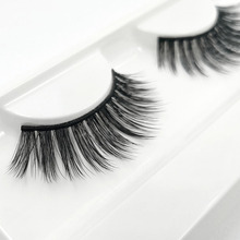572a25c83dc iflovedekd 3D Synthetic Volume Eyelash Extensions Natural Long Mink Cruelty  Free Fake Lashes D22(China