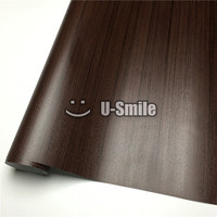 Acacia Wood Self Adhesive Vinyl Acacia Wood Vinyl Wrap For Wall Furniture Car Interior Size:1.24X50m/Roll(4ftX165ft)