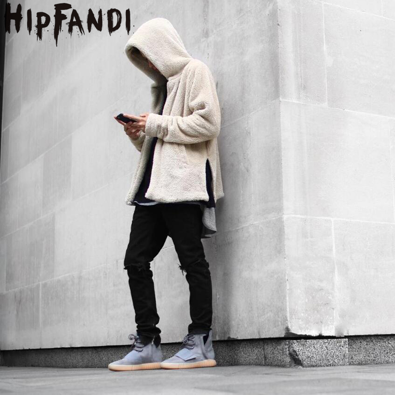 HIPFANDI New Arrival Fall And Winter Fashion Mens Oversized Cardigan Hoodies Streetwear Style Fleece Thick Men Hooded Jackets