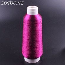 ZOTOONE Rose Red Sewing Thread Machine Embroidery Threads For Quilting Accessories Wholesale Industrial Polyester