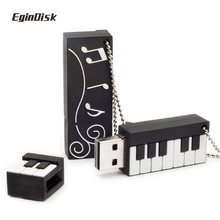 Cartoon Usb Piano Keyboard Usb Stick Musical instruments FlashDrive 8gb 16gb 32gb 64gb Creative Piano Pen Drive Gift Disk On Key(China)