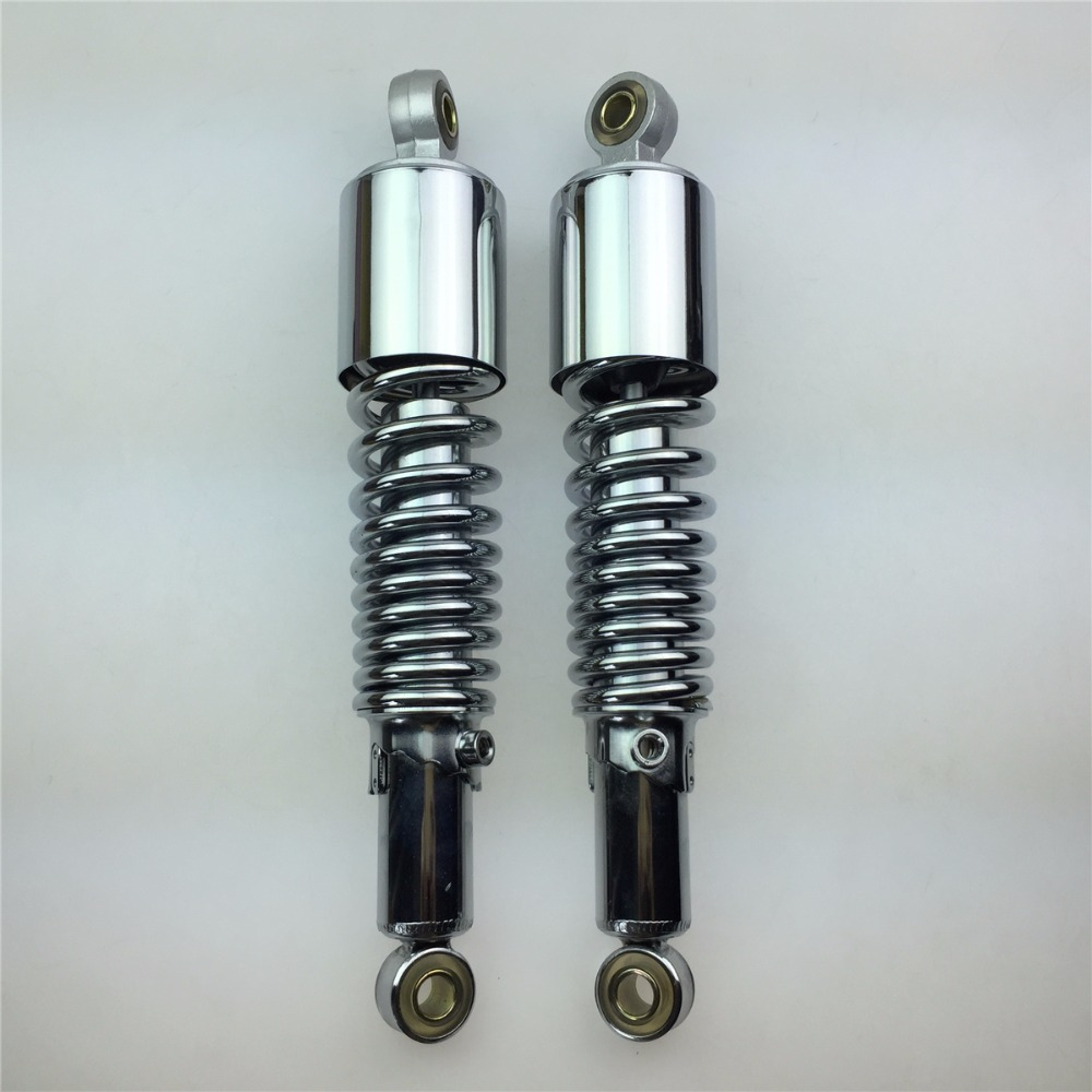 STARPAD For the wooden Suzuki GN125 motorcycle accessories adjustable shock absorber after the shock absorber motorcycle after the shock absorption adjustable damping and nitrogen shock absorber a pair