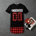 Underated Bandana Hip Hop remata las camisetas Para Hombre ropa de Hip Hop Hip Hop Extended T Ropa Hiphop de Los Hombres Streetwear hombres