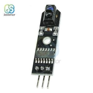 Image 2 - 10 Uds DC 5V infrarrojo IR Line Sensor rastreador Sensor de pista seguidor TCRT5000 evitación de obstáculos para Arduino AVR, ARM y PIC