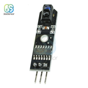 Image 2 - 10Pcs DC 5V IR Infrared Line Tracker Sensor Track Follower Sensor TCRT5000 Obstacle Avoidance For Arduino AVR ARM PIC