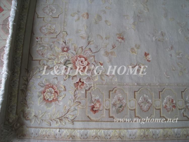 Penghantaran percuma 6'X9 '160Line Hand-knotted Persian Rug, Wool and - Tekstil rumah - Foto 3