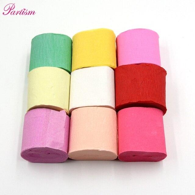 10 M Gulungan Kertas Krep Pita Kertas DIY Bouquet Curling Untuk Rumah  Pernikahan Ulang Tahun 23fcf45d6f