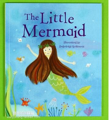 The Little Mermaid Education Books Parragon Classic Warm Picture