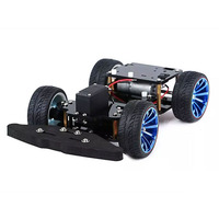 Elecrow 4WD RC Smart Car Chassis With S3003 Metal Servo Bearing Kit For Arduino Robot Platform