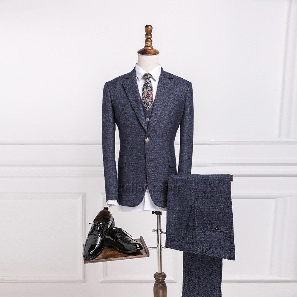 ୧ʕ ʔ୨Geliaocong2017 lana Tweed gris por encargo de los hombres ...