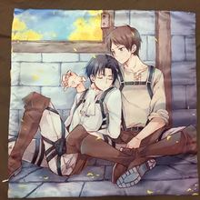 Attack on Titan Aren Levi Anime Two Side  Hugging Pillow