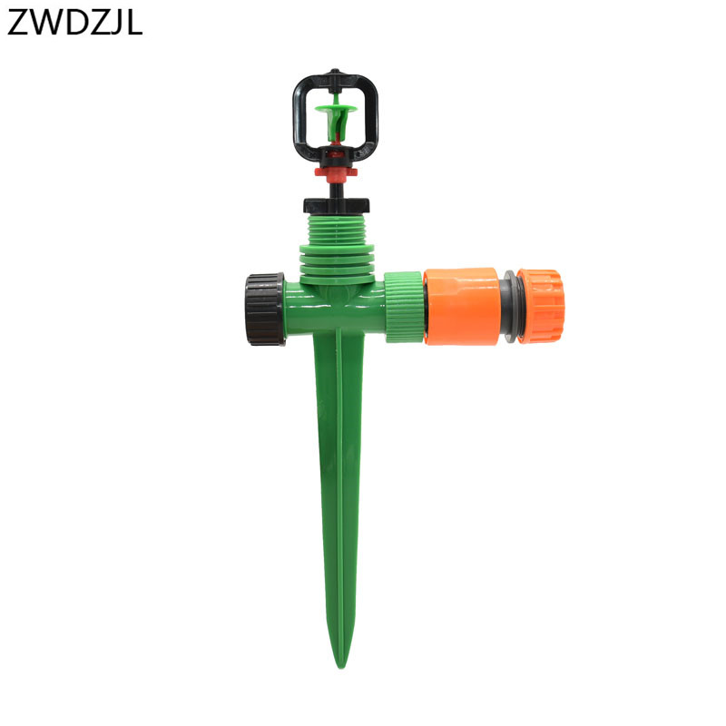 Garden watering sprinklers nozzle watering & irrigation 1/2 hose Connector Garden Drip irrigation System Tools 1pcs