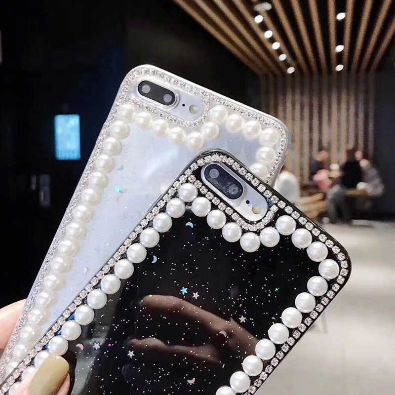 930c03c814 ... Bling Clear Phone Case For iphone X 8 7 6 6S Plus XR XS MAX Thin ...