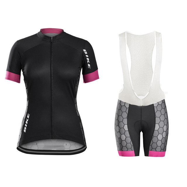 2017 donne cycling jersey set 3d gel abbigliamento ciclismo nero bicicletta abbigliamento de la ropa ciclismo pro team MTB road bike abbigliamento