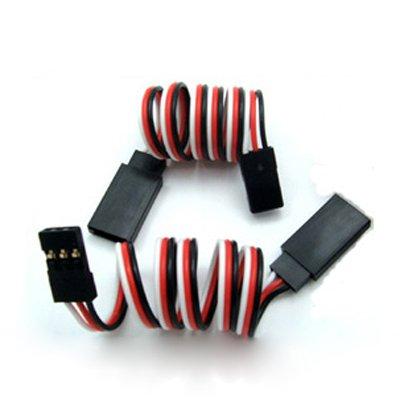 1000 pcs by dhl fedex 300mm 30cm servo extension lead wire JR plug for JR Futaba