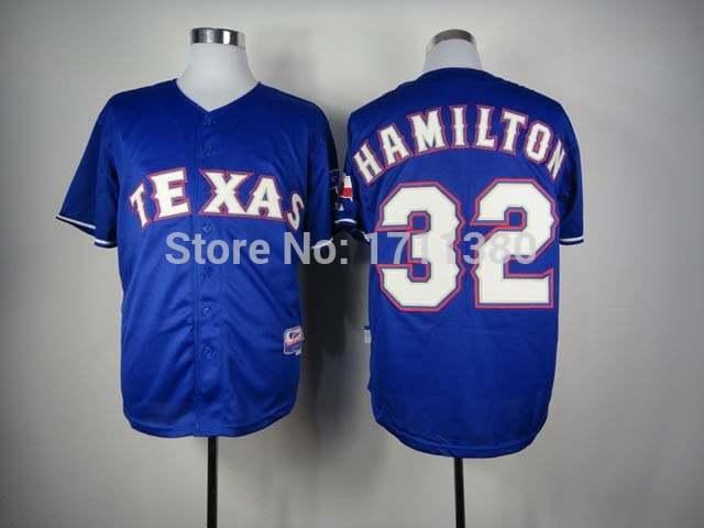 low priced 8313e 7e4d2 32 Josh Hamilton jersey Stitched Texas Rangers jersey cheap authentic sport  baseball jerseys custom shirt white blue red white m