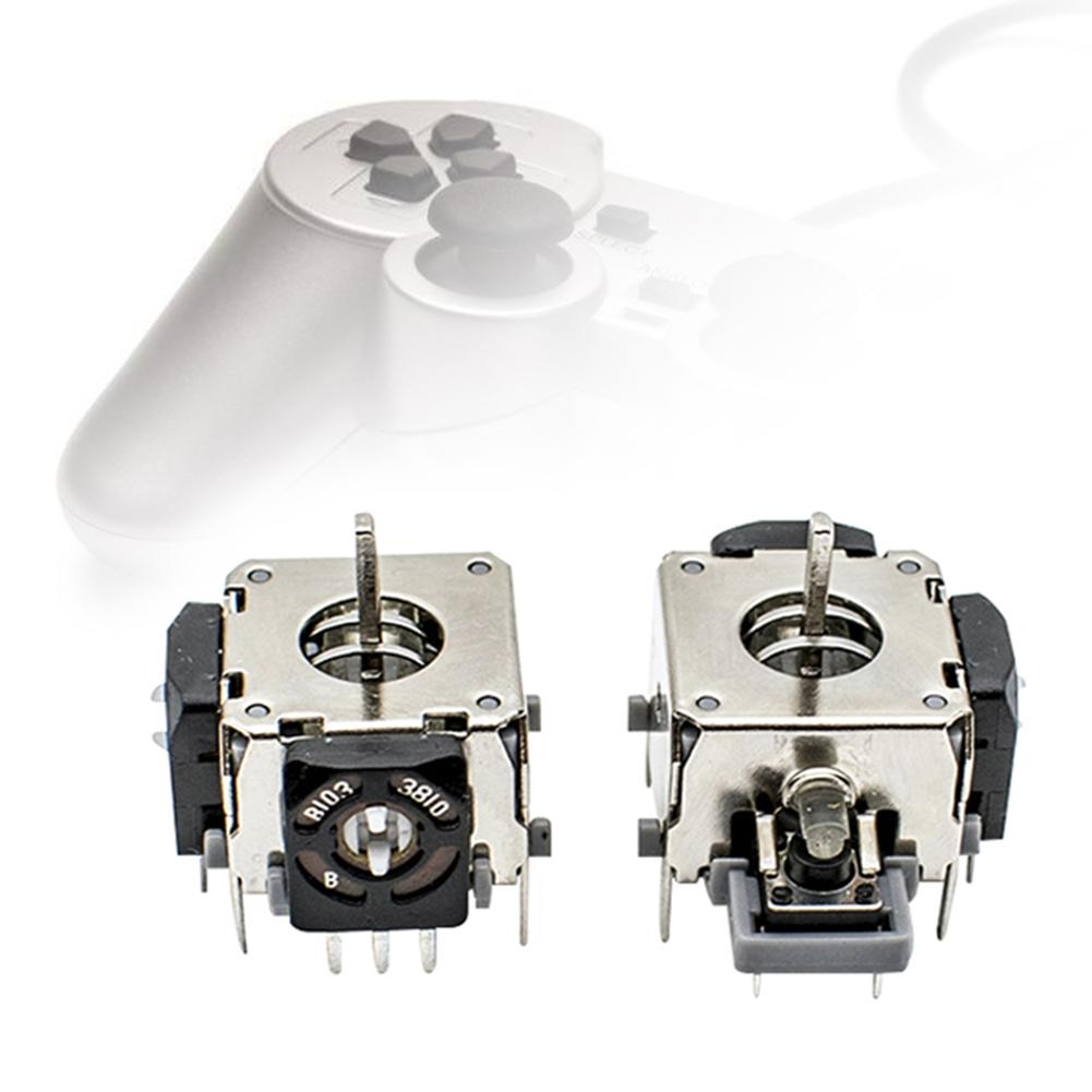 Fashion 2Pcs Replacement Gamepad Thumb Stick 3D Analog Joystick For PS3 Game Controller