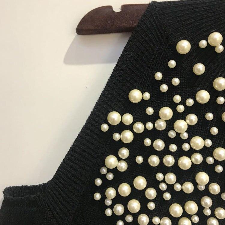 Laine l Noir Sexy Mode Automne épaule Micosoni la Pulls Balles Hiver Hors Nail De Manches S Nouveaux 2018 Turleneck Chandails avwTHq