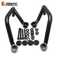 For yamaha mt 09 fz 09 Front Engine Guard Crash Bar Protection for Yamaha MT 09 FZ 09 Tracer 2014 2015 Black NEW Brand
