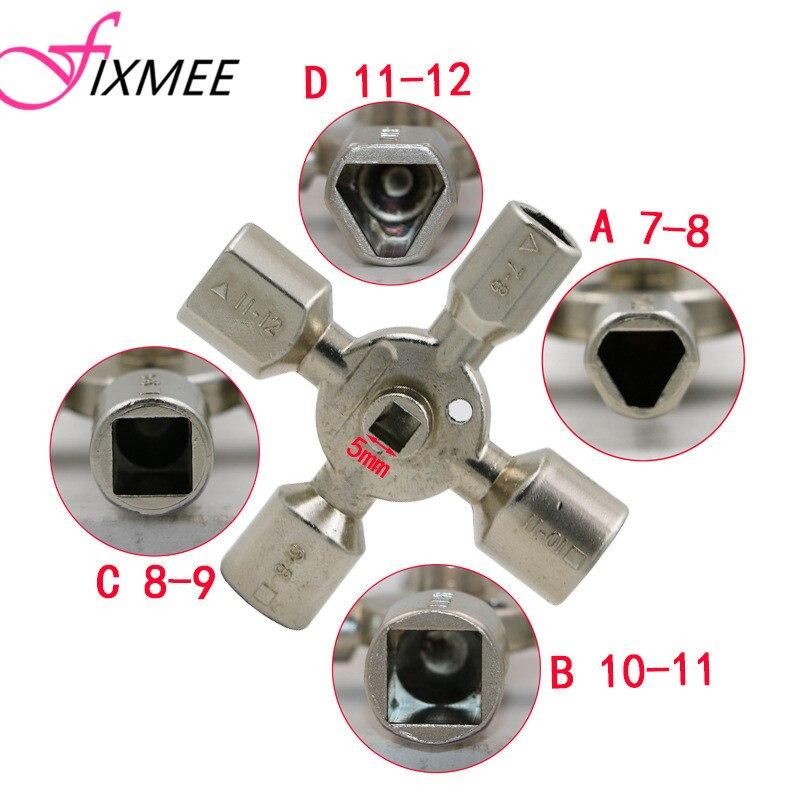 10cestný nástroj kovový klíč plynový elektroměr skříňka - Ruční nářadí - Fotografie 3