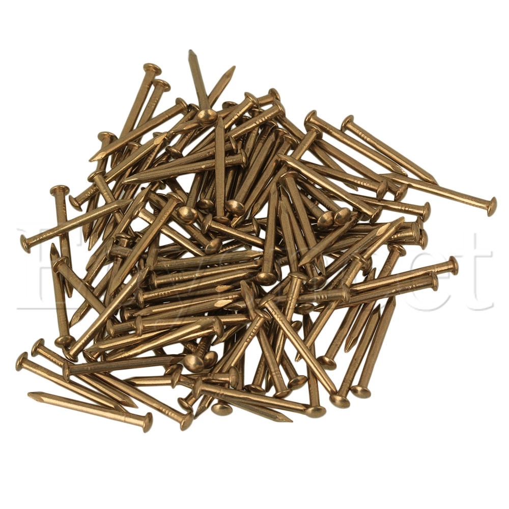100pcs Furniture Round Head Archaize Pure Copper Nail Brass 18 x 2.8mm камера заднего вида incar vdc 010