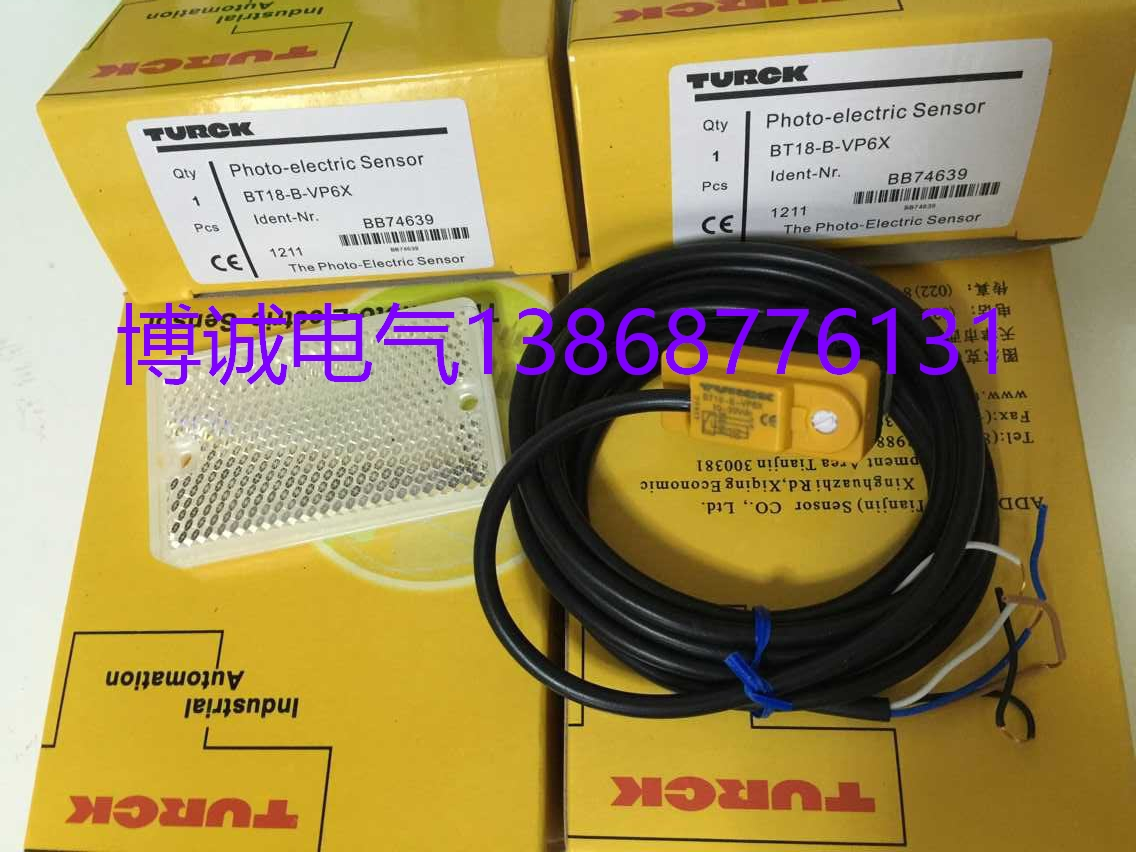 New original  Photoelectric switch BT18-B-VP6X BT18-B-VA6X 100% new and original fotek photoelectric switch a3g 4mx mr 1 free power photo sensor