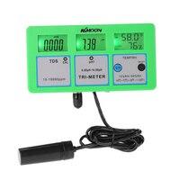 KKmoon Tester 4 in 1 pH Meter Multi parameter Digital Multi function Water Quality