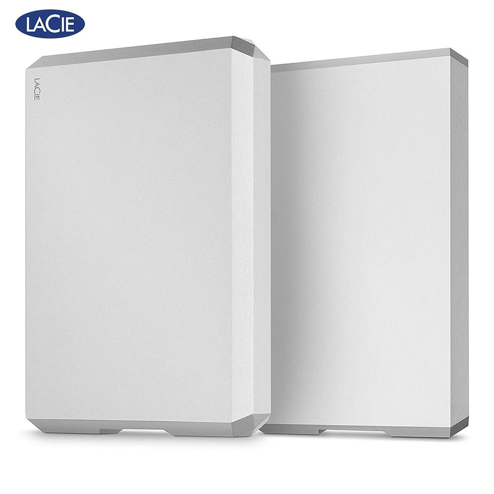 """Lacie Mobile Drive 1TB 2TB 4TB 5TB External Hard Drive 2.5"""" USB C( USB 3.1 Gen2) 6Gb/S For PC MAC"""