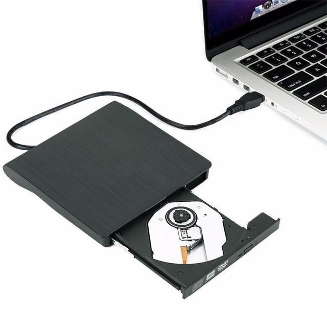 Boa Venda Slim USB 3.0 External DVD RW CD Burner Escritor Leitor Player Para PC Portátil De Fevereiro De 22
